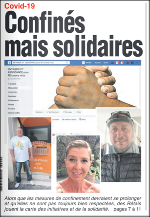 confinés mais solidaires